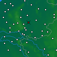 Nearby Forecast Locations - Zutphen - Mapa