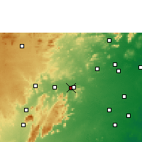 Nearby Forecast Locations - Vellore - Mapa