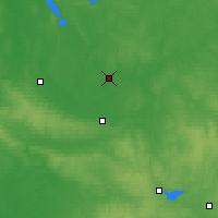 Nearby Forecast Locations - Vileyka - Mapa