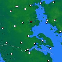 Nearby Forecast Locations - Haderslev - Mapa