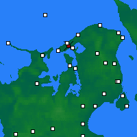 Nearby Forecast Locations - Melby - Mapa