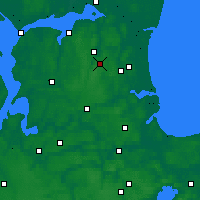 Nearby Forecast Locations - Skørping - Mapa
