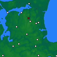 Nearby Forecast Locations - Støvring - Mapa