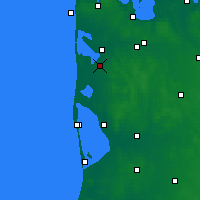 Nearby Forecast Locations - Ulfborg - Mapa