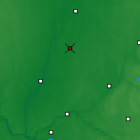 Nearby Forecast Locations - Ramygala - Mapa