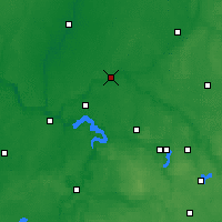 Nearby Forecast Locations - Jonava - Mapa