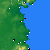 Nearby Forecast Locations - Clogherhead - Mapa