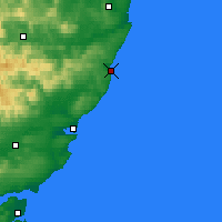 Nearby Forecast Locations - Stonehaven - Mapa
