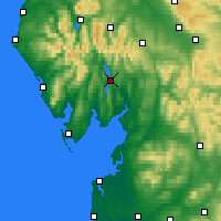 Nearby Forecast Locations - Windermere - Mapa