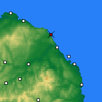 Nearby Forecast Locations - Eyemouth - Mapa