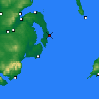 Nearby Forecast Locations - Portavogie - Mapa