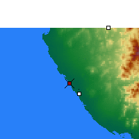 Nearby Forecast Locations - Mastabah - Mapa