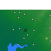 Nearby Forecast Locations - Nadiad - Mapa
