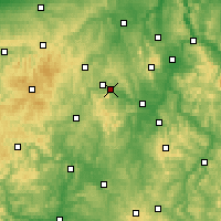 Nearby Forecast Locations - Lago Éder - Mapa