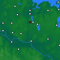 Nearby Forecast Locations - Ratzeburger See - Mapa