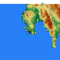 Nearby Forecast Locations - Foinikounta - Mapa