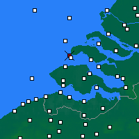 Nearby Forecast Locations - Renesse - Mapa