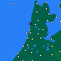 Nearby Forecast Locations - Egmond aan Zee - Mapa
