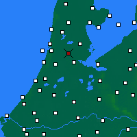 Nearby Forecast Locations - Zaanstad - Mapa