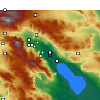 Nearby Forecast Locations - Thermal - Mapa