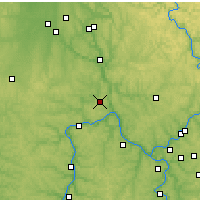 Nearby Forecast Locations - Beaver Falls - Mapa