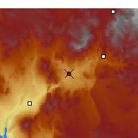Nearby Forecast Locations - Saint George - Mapa
