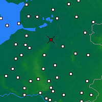 Nearby Forecast Locations - Zwolle - Mapa