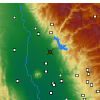 Nearby Forecast Locations - Oroville - Mapa