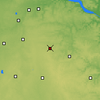 Nearby Forecast Locations - Dodge Center - Mapa