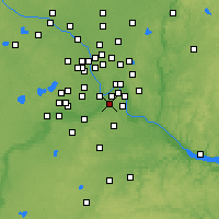 Nearby Forecast Locations - St Paul South - Mapa