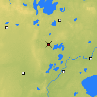 Nearby Forecast Locations - Pine River - Mapa