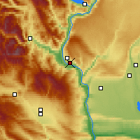 Nearby Forecast Locations - Wenatchee - Mapa