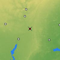 Nearby Forecast Locations - Stevens Point - Mapa