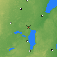 Nearby Forecast Locations - Appleton - Mapa
