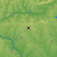 Nearby Forecast Locations - Mineral Point - Mapa