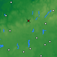 Nearby Forecast Locations - Bytów - Mapa