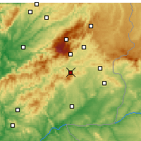 Nearby Forecast Locations - Fundao - Mapa