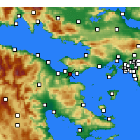 Nearby Forecast Locations - Istmia - Mapa