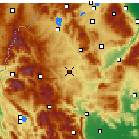 Nearby Forecast Locations - Grevená - Mapa