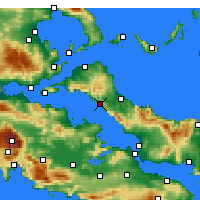 Nearby Forecast Locations - Limne - Mapa