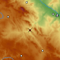 Nearby Forecast Locations - Calatayud - Mapa