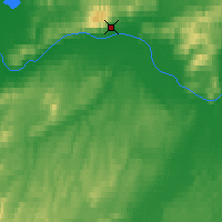 Nearby Forecast Locations - Manley Hot Springs - Mapa