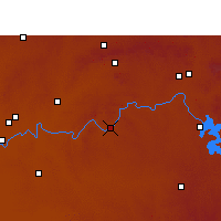 Nearby Forecast Locations - Parys - Mapa