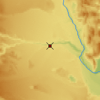 Nearby Forecast Locations - Rio Mayo - Mapa