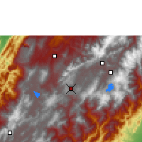 Nearby Forecast Locations - Tunja - Mapa