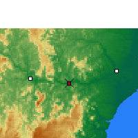Nearby Forecast Locations - Colatina - Mapa