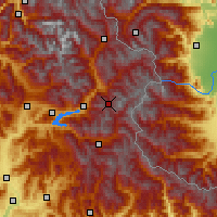 Nearby Forecast Locations - Risoul - Mapa