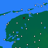 Nearby Forecast Locations - Dokkum - Mapa