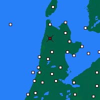 Nearby Forecast Locations - Schagen - Mapa