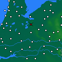 Nearby Forecast Locations - Hilversum - Mapa